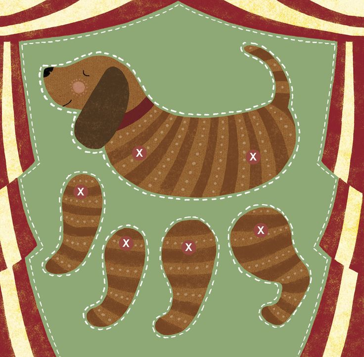 Image of Cut Out and Make Dog Puppet Card