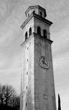 Available: Limited Edition 1 of 10: Bell Tower of Marsure. #BellTower #church #tower #spire #campanile #Marsure #Italy #Italia #Italian #ticker #time #marker #TickTock #Clock #time #timepiece #chronometer #black #white #BlackAndWhite #monochrome #greyscale #trees #sky #bricks #architecture #building #construction #tower #lookout #chime #bell #brickwork #stones #photo #grey #tones #grand #brick #Europe #travel #numbers #clouds #overcast #scenic #scene #scenery #concrete