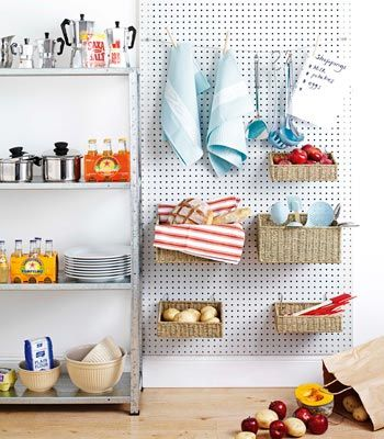 19 best trends pegboard images on pinterest for Kitchen pegboard ideas