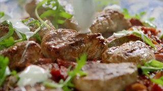 Jamie Olivers 15 Minute Meals S01E27 - Jerk Pork Medallions with Grilled Corn Salad