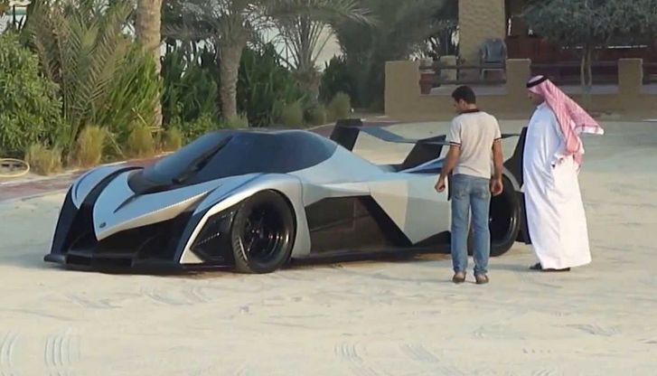 The Dubai makers of the V16-powered Devel Sixteen hypercar claims their machine has a crazy 5,000hp (5 times more than the Bugatti Veyron!) offering an unheard of performance; with a top speed of 560km/h and0-100km/h in just 1.8 seconds! Really? #spon Watch it here...