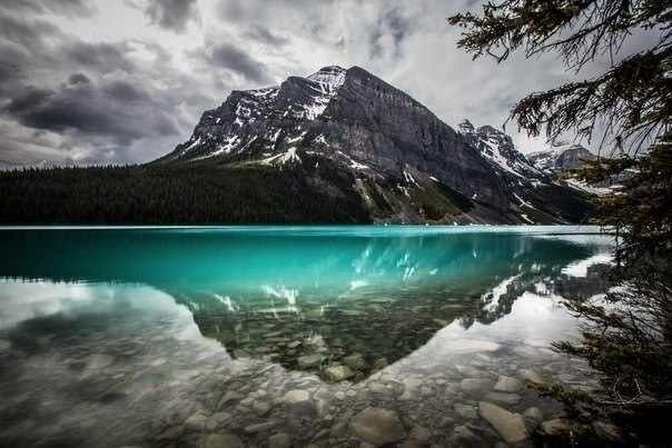 Озеро Луиз, Национальный парк Банф, Канада