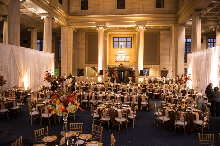 Wedding Reception At The Columns In Memphis TN Wedding By Southern Event Planners