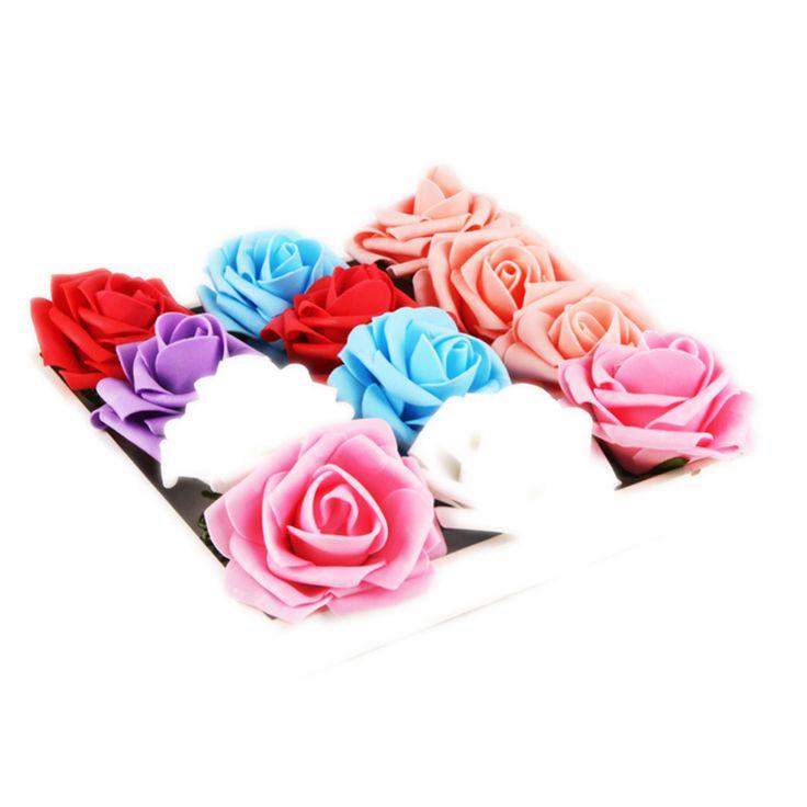 Недавно Прибытия Моды Главная Букет Свадьба Ремесло Декор DIY 1 Шт. Искусственный Пена Розы -