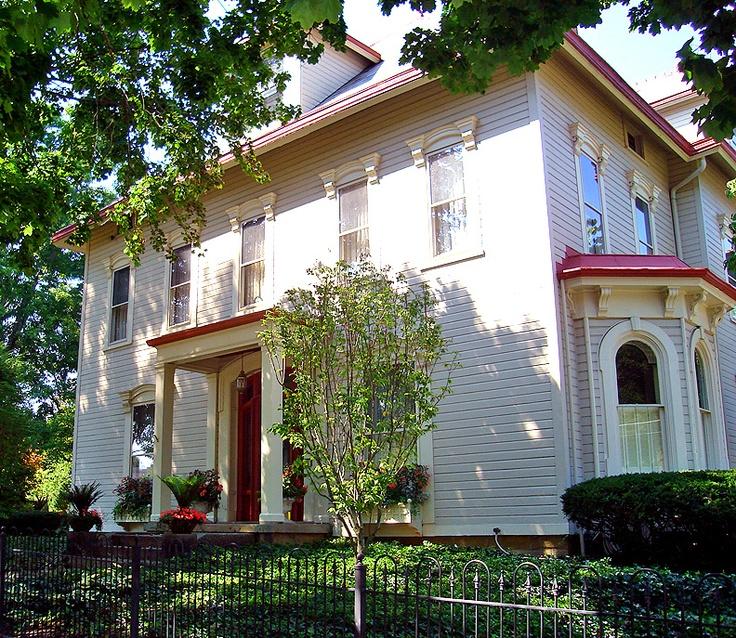 The president's house (Denison University), Granville, Ohio