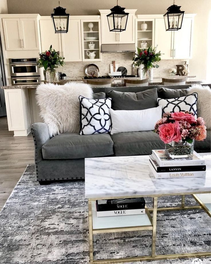 Grey Couch Living Room Decor 30 Stylish Gray Living Room Ideas To Inspire You In 2020 Living Room Grey Dark Grey Couch Living Room Small Apartment Living Room