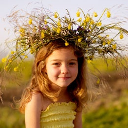pretty.: Summer Crafts, Girls, Idea, Kids, Flowergirl, Hair, Wildflower Crowns