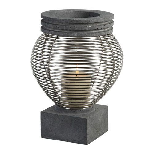 Fausto Industrial Candleholder