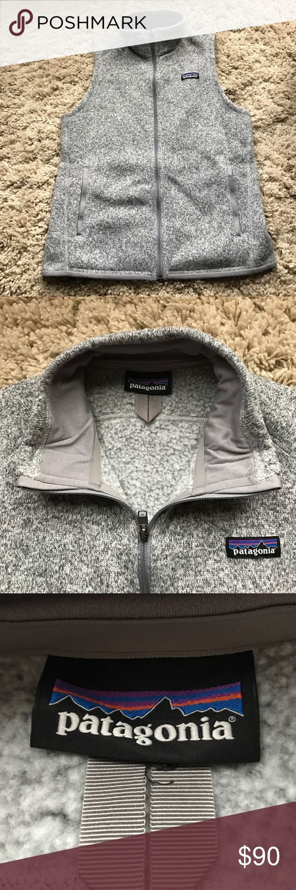 Patagonia better sweater vest New without tags!! Never worn. I purchased the wrong size. Patagonia Jackets & Coats Vests
