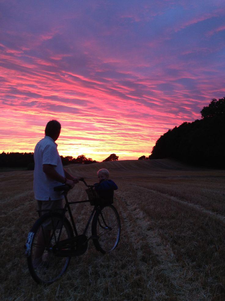 Fantasy colors. Sunset 28/7-2013