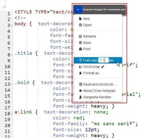 Free Text Editor To View And Edit Google Drive Documents
