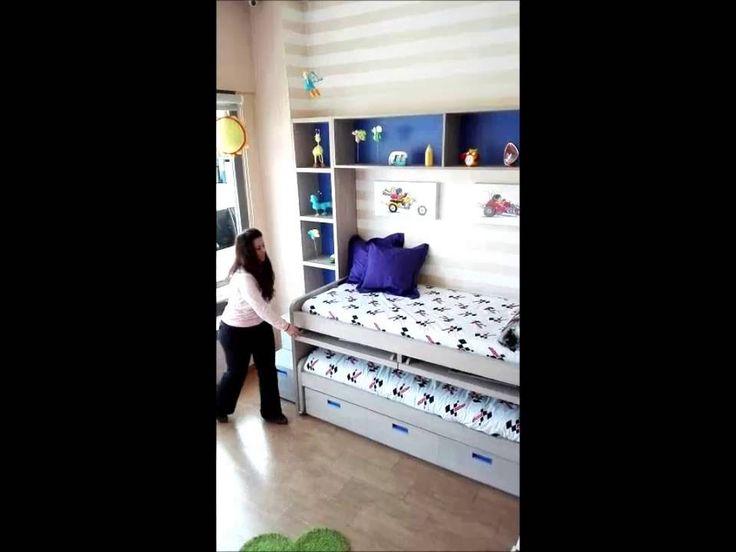 96 best dormitorios juveniles e infantiles compactos - Muebles para espacios reducidos ...