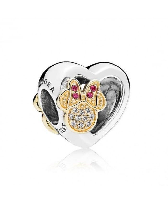 c7e2d1c82 Pandora Disney Disney Mickey and Minnie Love Icons Charm Sale Clearance