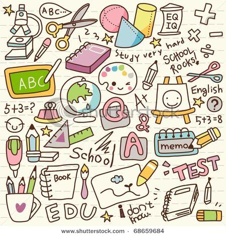 Objetos de colegio