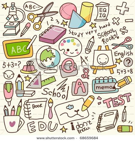 ♥ doodles ♥ start to make themed doodles...