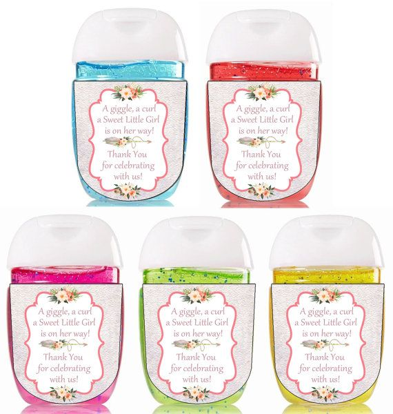 Boho Hand Sanitizer / Bath And Body Works / Pink / Baby