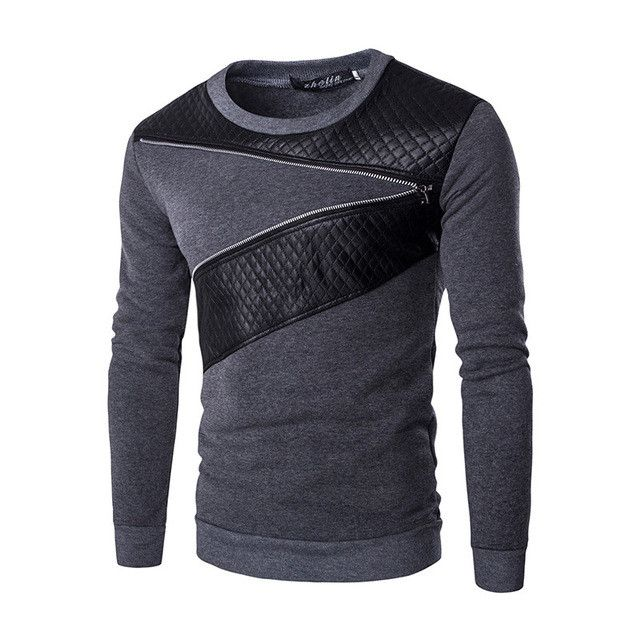 2017 New Autumn Fashion Brand Casual Sweatshirt O-Neck Patchwork Slim Fit Knitting Mens Hoodies And Pullovers Men Pullover 9238