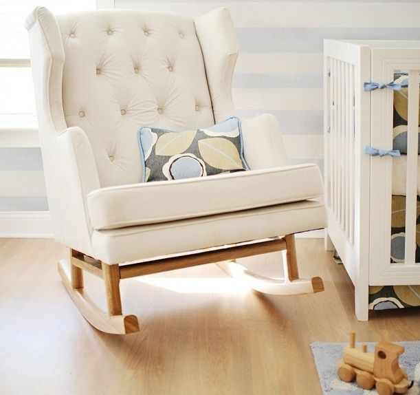 Empire Rocker-Empire Rocker, Nursery Rocking Chair, Baby Rocking Chair| Bebe Diva