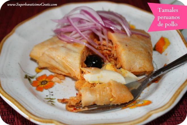 tamales peruano de pollo recipe | Recipes with Maseca - # ...