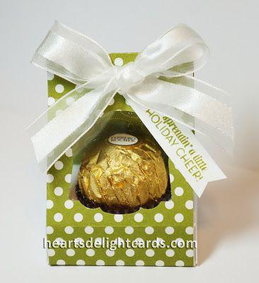 Heart's Delight Cards: 'Tis the Season......Fererro Rocher Treat Box.