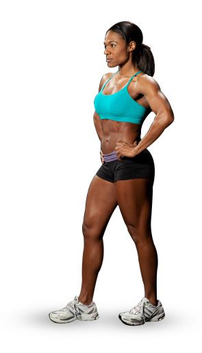 Laura Bailey's Muscle Building Program - Bodybuilding.com Not a fan of all the supplements, but I like how she super sets everything since I prefer super sets when I work out