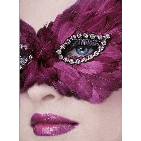 Wedding Accessory with eye makeup and magenta lipstick. ❤ liked on Polyvore featuring beauty products, makeup, lip makeup and lipstick