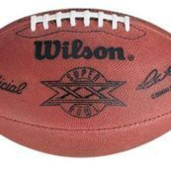Super Bowl 20 XX Wilson Official NFL Game Football Bears vs. Patriots from Gary's Sports Closet Official Online Store- NFL-NBA-MLB-NHL-NCAA for $295.00 on Square Market