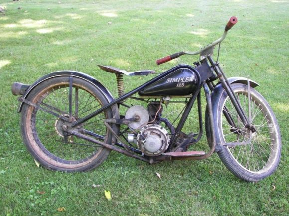 Preservation Piece 1952 Simplex Bring A Trailer Vintage Bikes Old Motorcycles Classic Motorcycles
