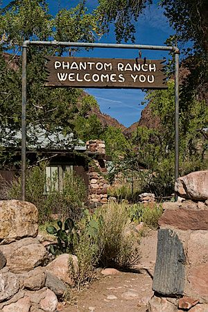 Phantom Ranch, the campground at the bottom of the Grand Canyon -- the place where I got my life back in 1992 when I walked to the bottom, stayed two nights, and walked back out