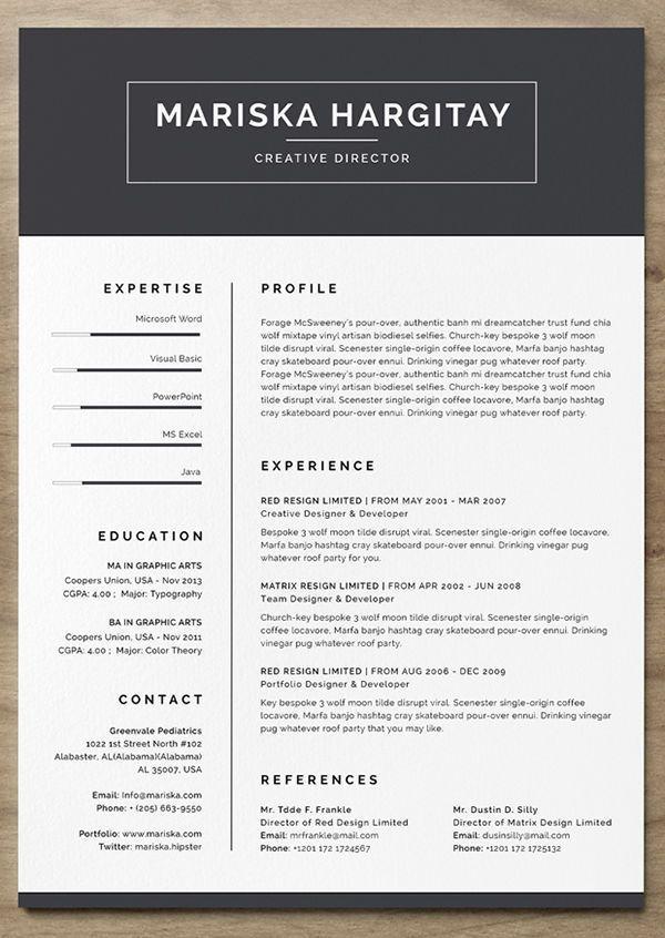 skillcrush modern resume