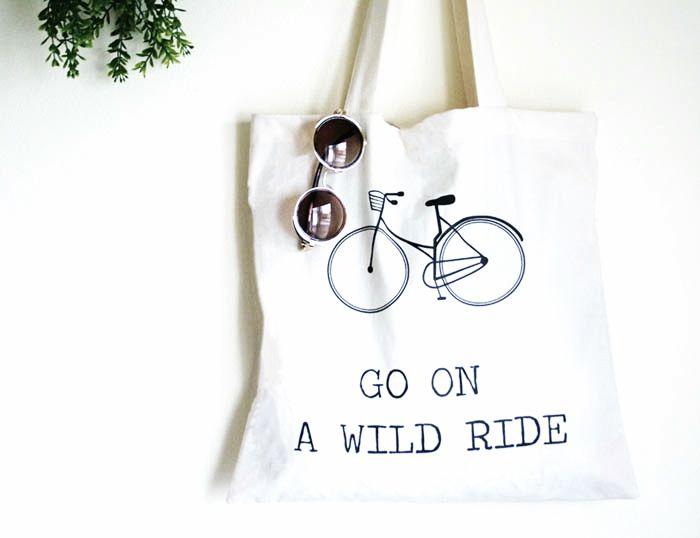 Fair Trade Travel Tote Bag
