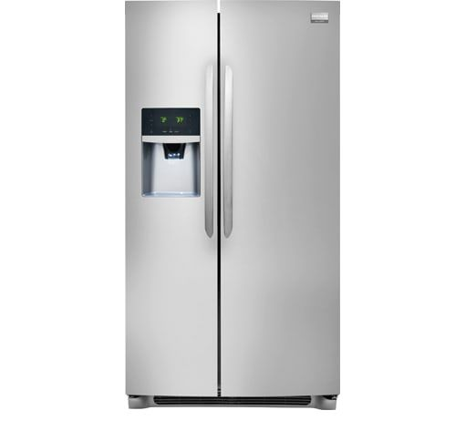 Frigidaire Gallery 25.6 Cu. Ft. Side-by-Side Refrigerator Stainless Steel-FGHS2655PF