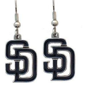 San Diego Padres MLB Dangle Earrings
