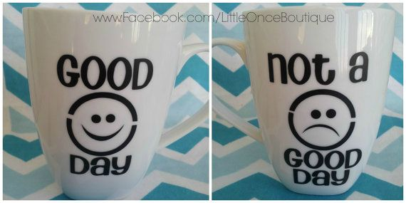 Good day bad day funny humerous 2 sided by LittleOnceBoutique, $12.00