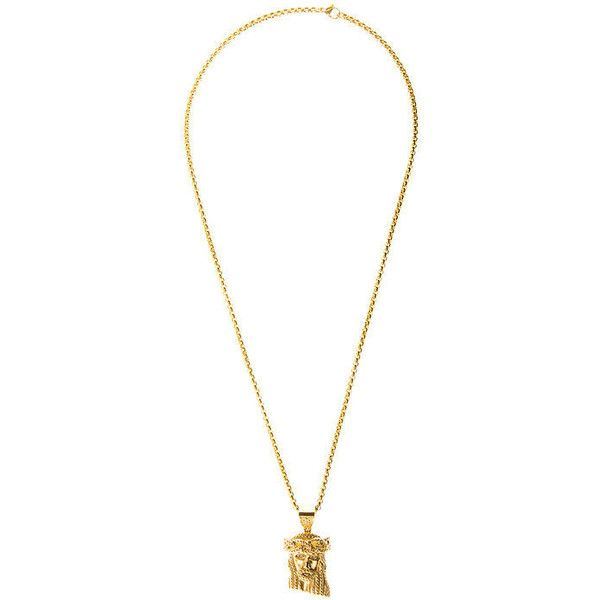 Design By TSS JESUS PIECE w/ 26INCH CHAIN ($80) ❤ liked on Polyvore featuring mens, men's jewelry, jewelry and necklaces
