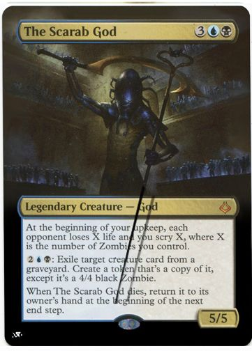 The Scarab God A   magic the gathering   Magic the gathering cards