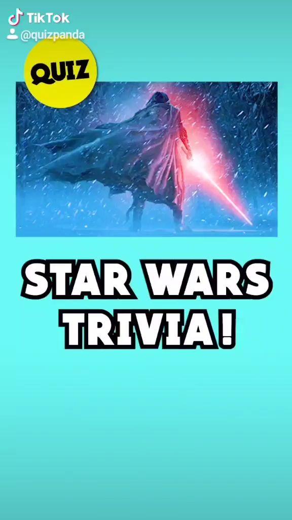 Video How Well Do You Know Star Wars Tiktok Quiz By Quiz Panda