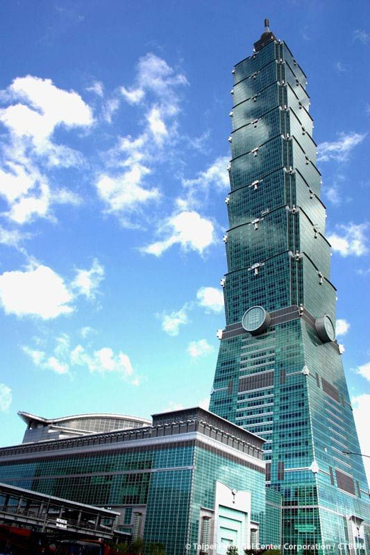 Taipei 101 Building in Taiwan