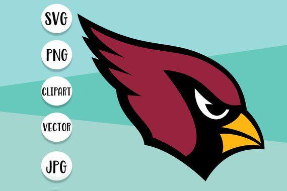 Arizona Cardinals Logo Svg Clipart Dxf Vector Print Iron On Arizona Cardinals Logo Clip Art Svg