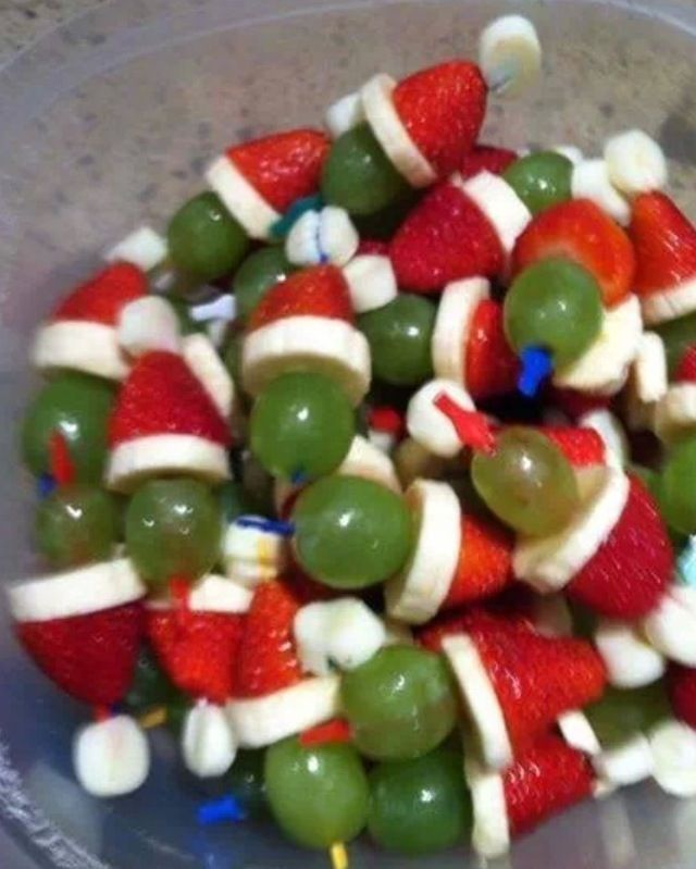 So Cute And Easy! Christmas In July Party Snack
