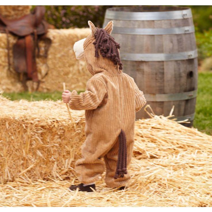 toddler horse costume back