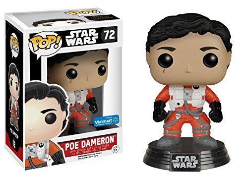 Funko pop Star Wars unmasked Poe Dameron exclusive
