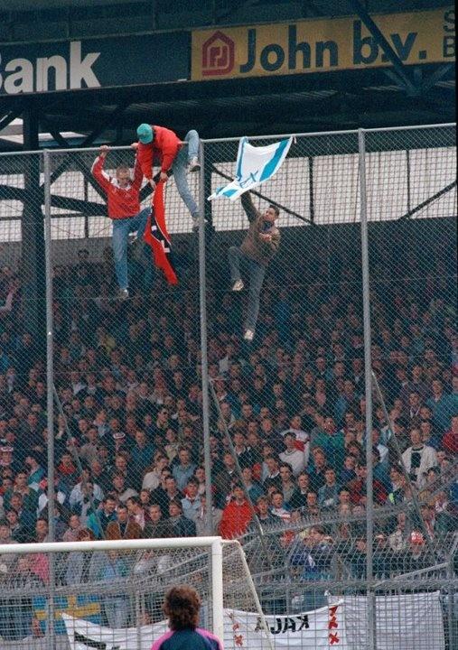 Ajax F-Side hooligans