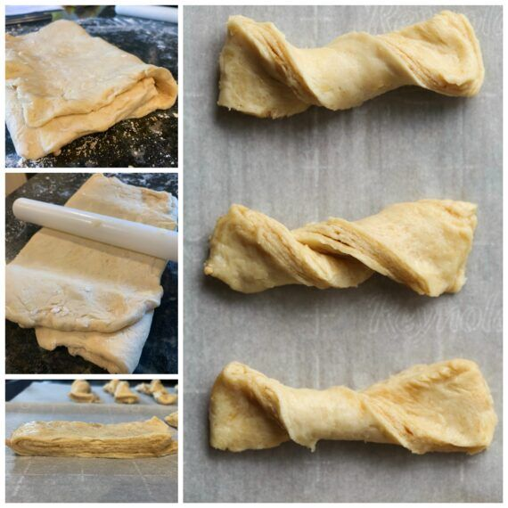Sour Cream Twists Are A Quick And Easy Pastry Like Treat That Anyone Can Make These Twists Can Be Served With A Cu Easy Pastry Recipes Sour Cream Pastry Dough