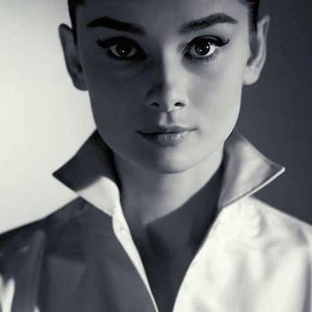 Audrey Hepburn by Jeff Cardiff, 1956