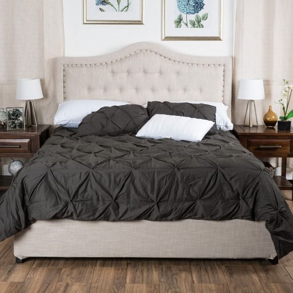 Christopher knight home dante upholstered queen tufted for Best deals on bedroom sets