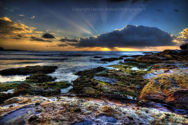 Freshwater Beach, Sydney NSW Australia. Sunraze Sunrise.