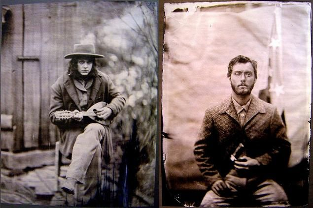 Cold Mountain (Anthony Minghella, 2003)  I'm seeing hints of Johnny Depp, and Jude Law  strange...: Fav Movie, 2003 The Movie, Jude Law, Jack White Cold Mountain, Fav Tv Movie, Law Tintype, Mountain Anthony, Jack O'Connel, Mountain Tintype
