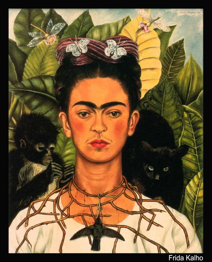arte-gato-Frida-Kalho