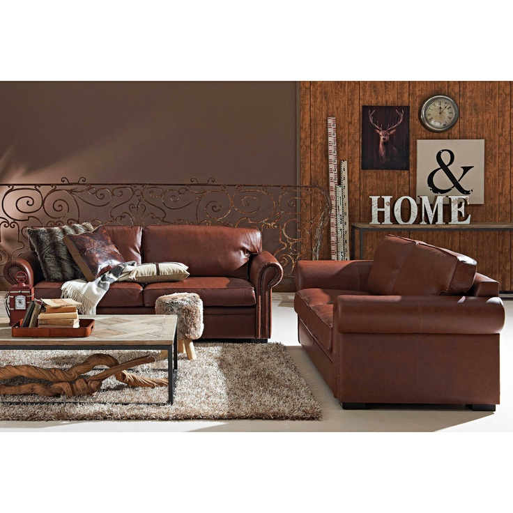 Furniture :: Lounges :: Leather Lounges :: Duke 3 Seater
